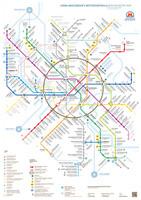 Схема московского метрополитена для конкурса департамента транспорта и развития дорожно-транспортной инфраструктуры города Москвы. 2012 год